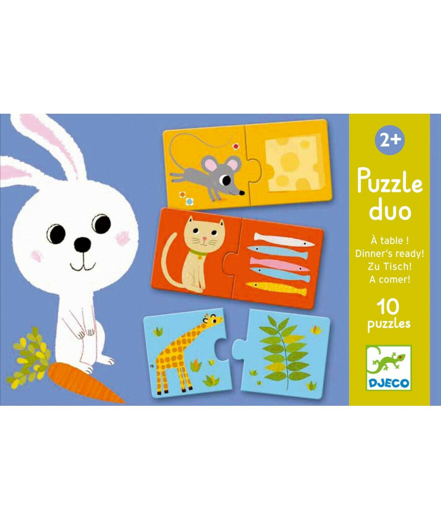 Duo puzzel - Dinner's ready