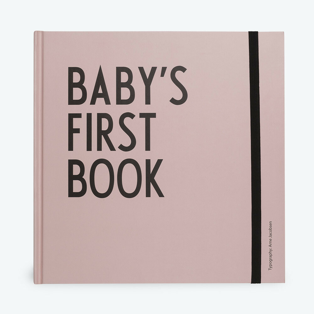 Baby's first book roze.