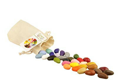 32 Crayon Rocks Cotton Muslin
