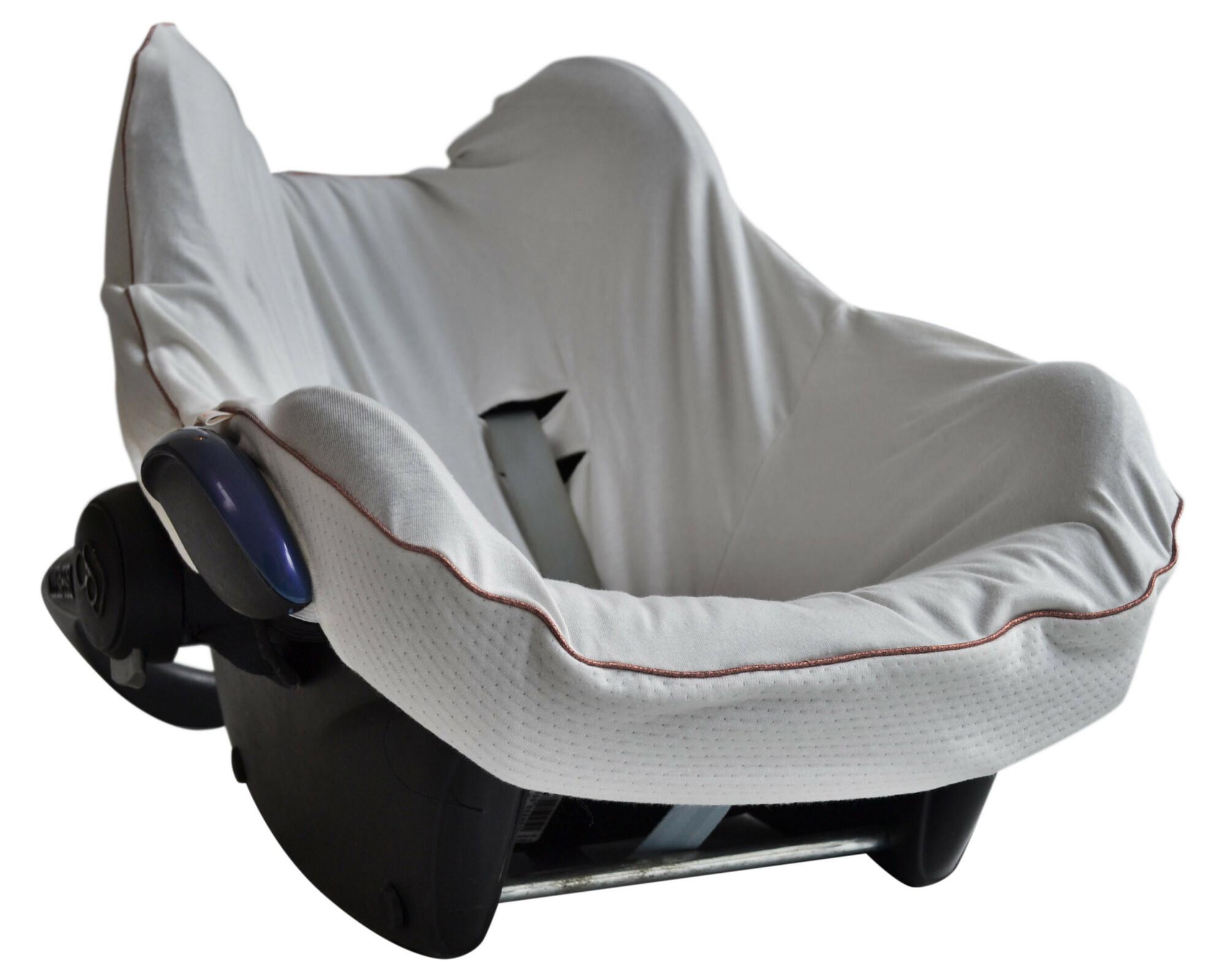 Hoes autostoel Maxi-Cosi - Jersey white/pi
