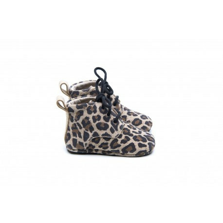 Classic boots - Leopard/Gold