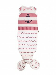 Babygown Pyjamas - Sailor Pink