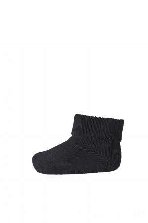 Ankle Plain Terry - Black