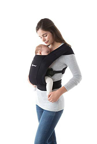 Babydraagzak Embrace - Pure Black