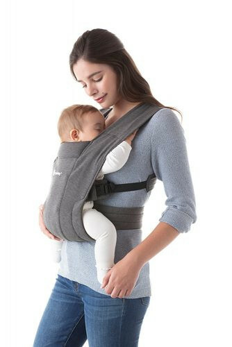 Babydraagzak Embrace - Heather Grey