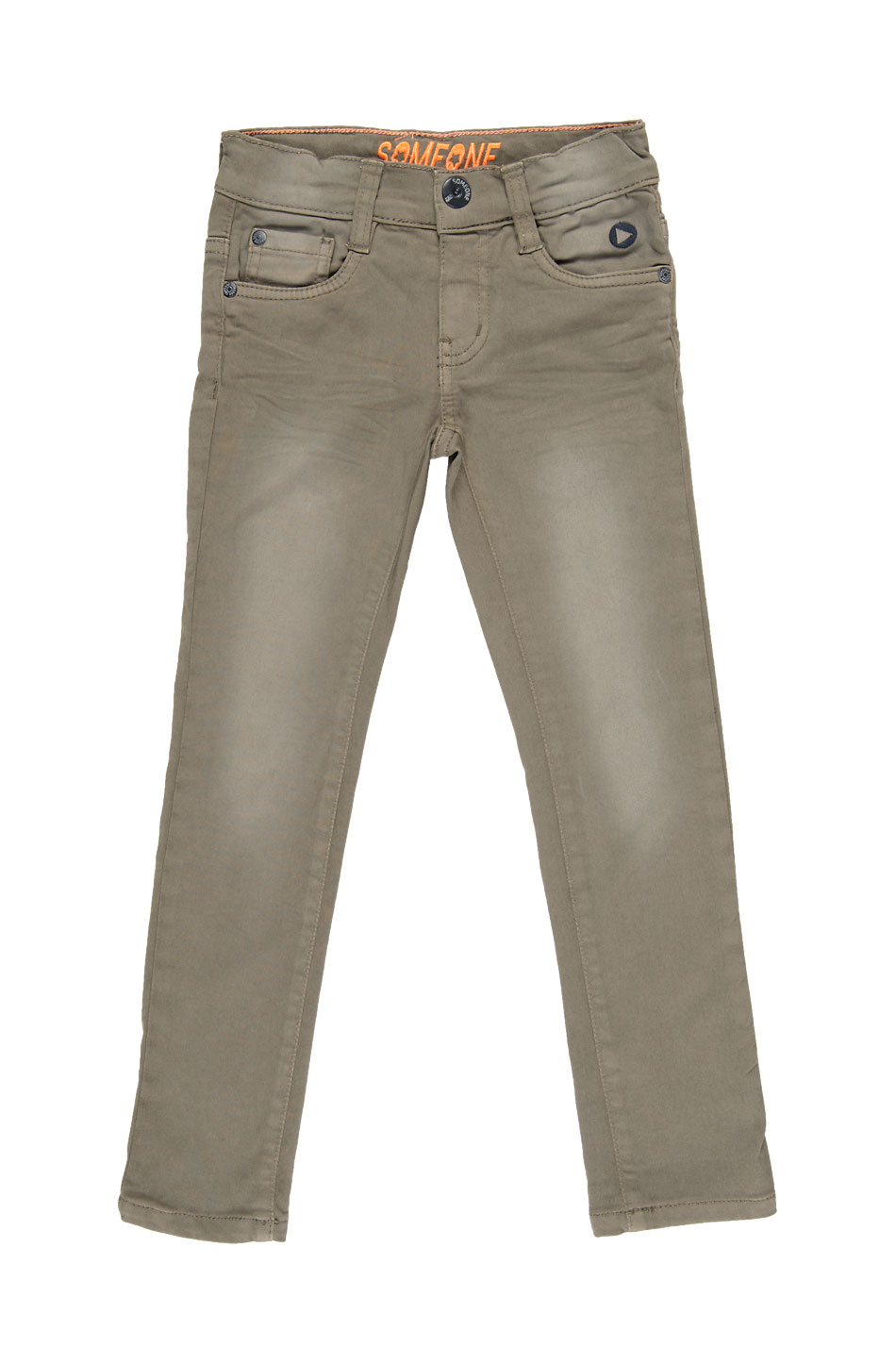 Denim lange broek Jeroom - Denim Khaki