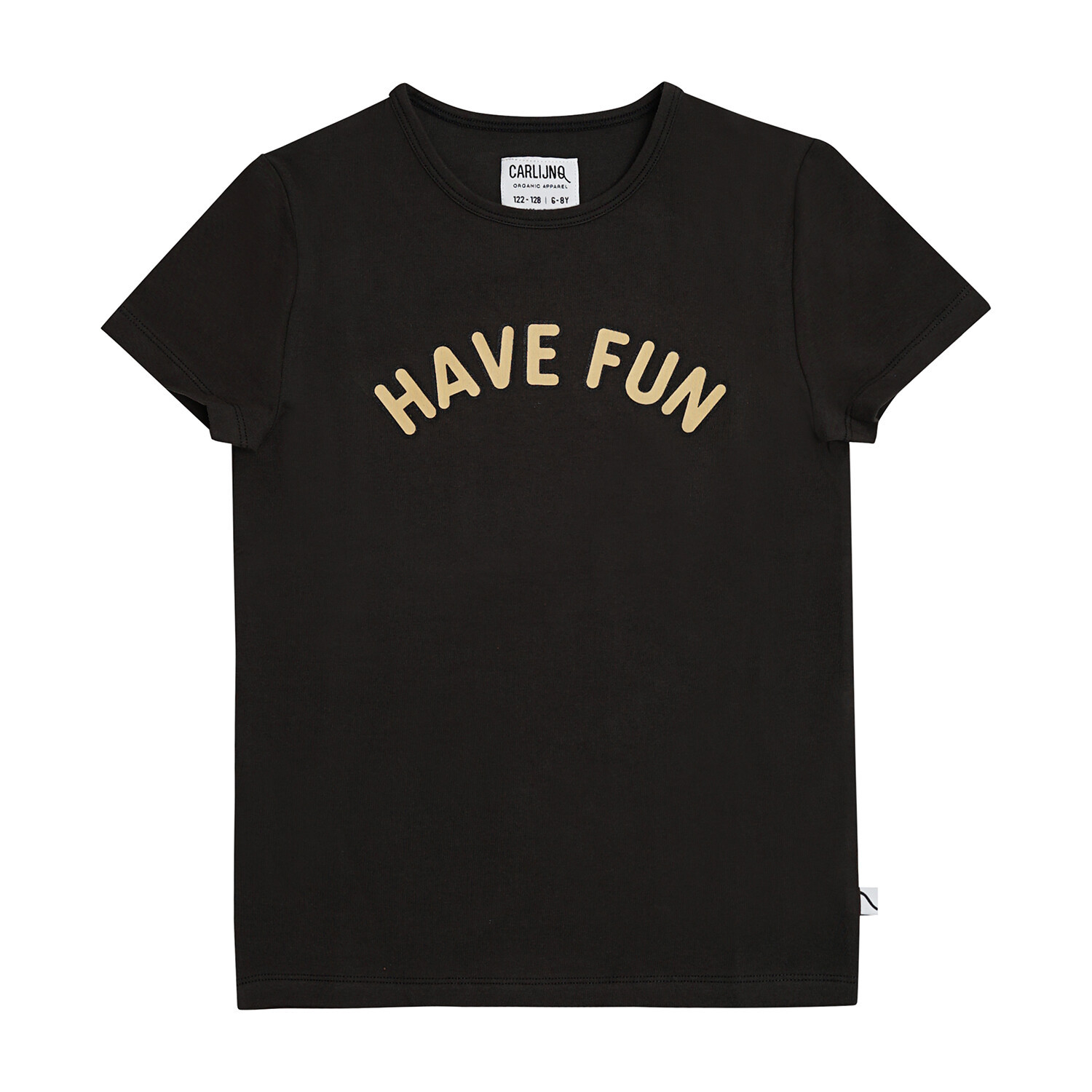 Have fun - t-shirt with print black