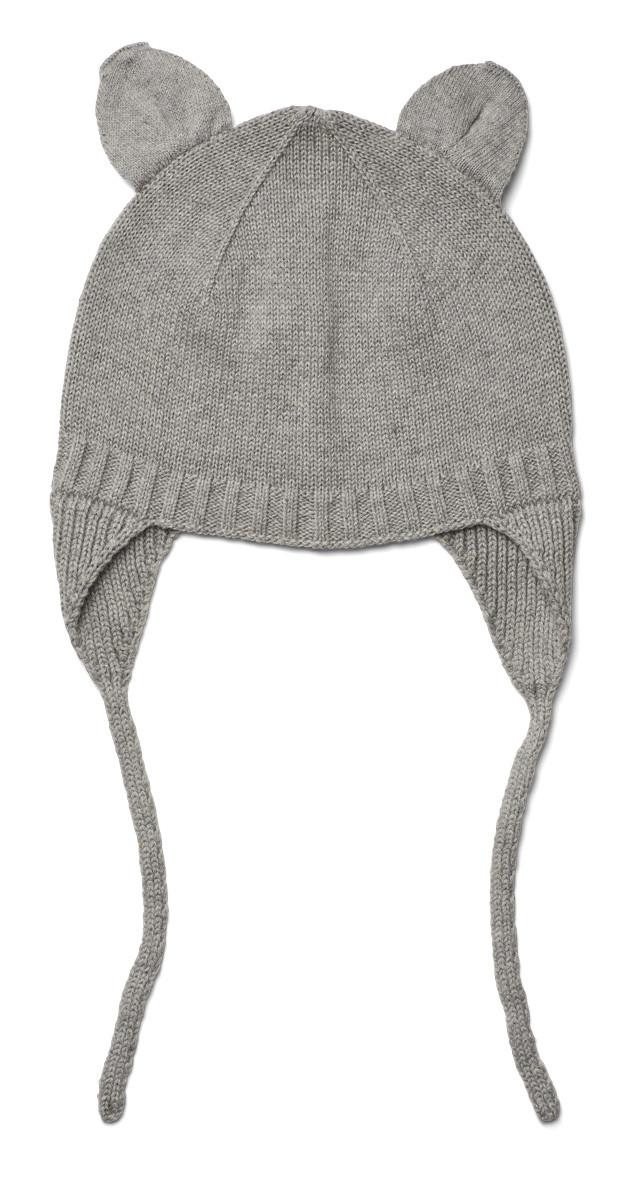 Muts - Violet bonnet - Grey melange