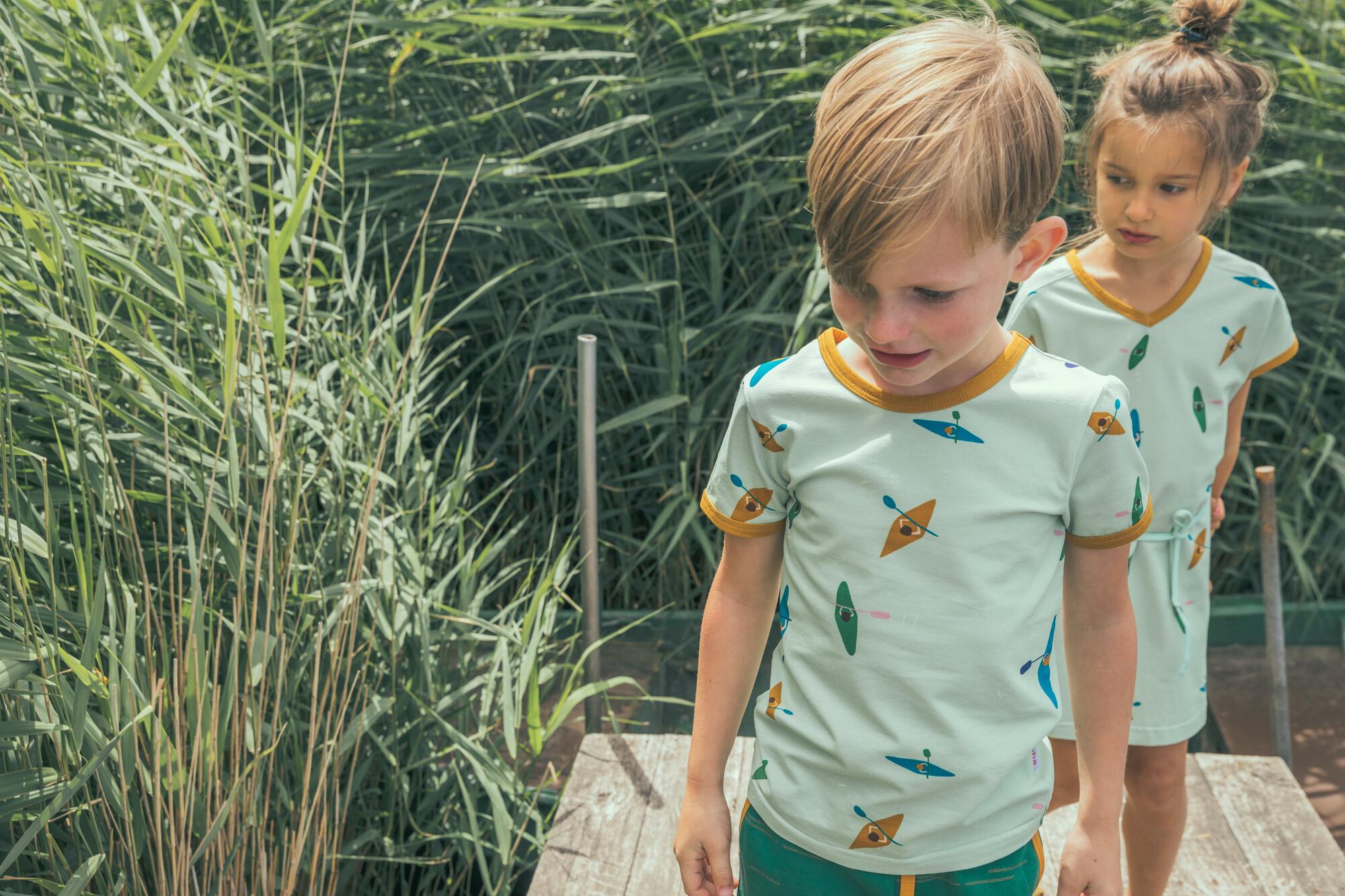 Ba*ba kidswear : vrolijke kinderen gekleed in Ba*ba kidswear